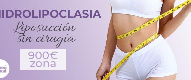 El tratamiento de liposucción sin cirugía o Hidrolipoclasia durante este mes de Mayo 2020 tiene el precio de 900€+IVA por zona, test Covid-19 incluido.