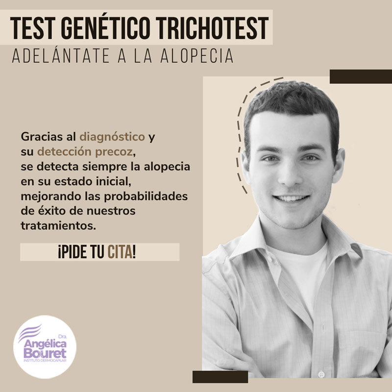 Test Genetico Trichotest - Instituto Dermocapilar