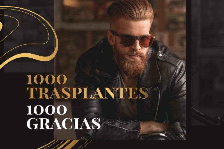 Mil trasplantes Capilares Instituto Dermocapilar Dra Angélica Bouret